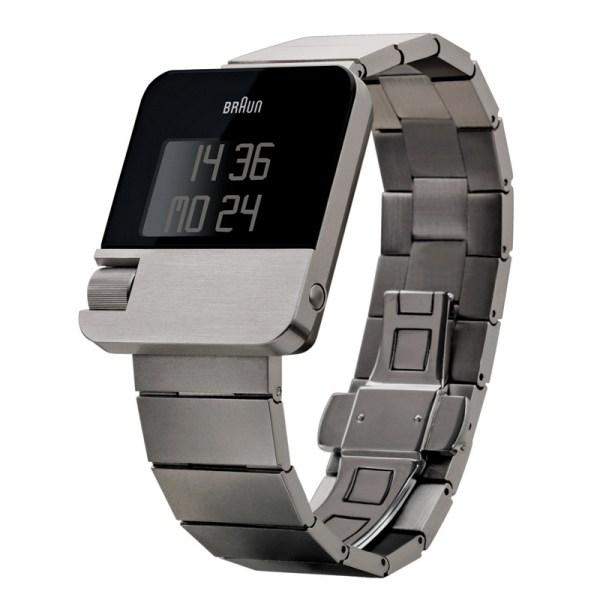Prestige horloge met stalen band.