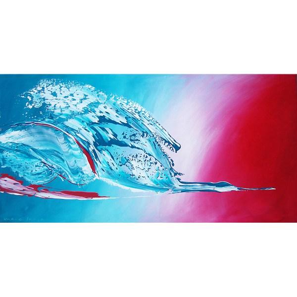 'Tropicle Bird', 120 x 60 cm