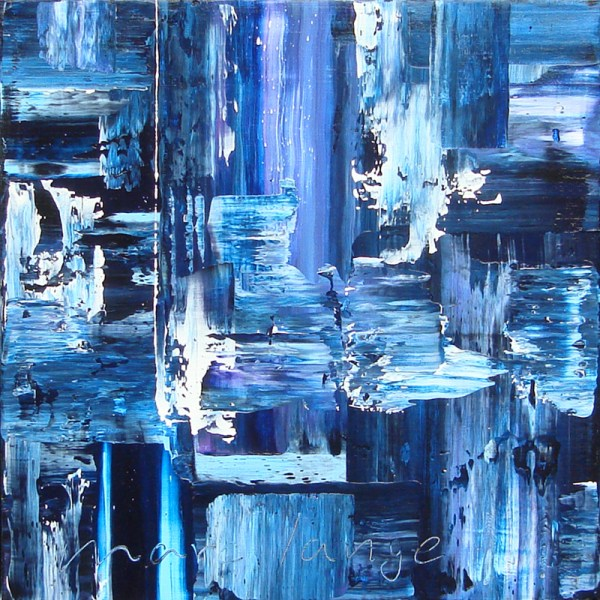 'It's A Blue One', 50 x 50 cm