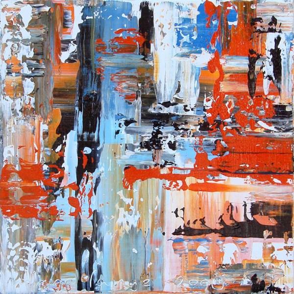 'Orange', 50 x 50 cm