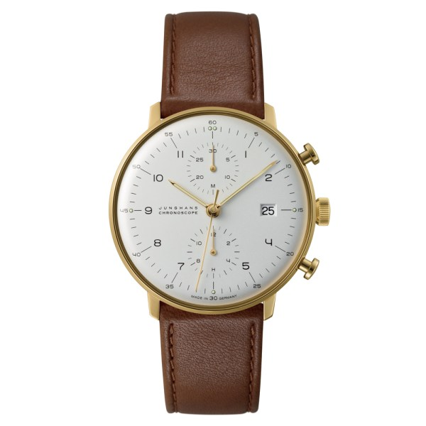 Chronoscope PVD Geel verguld, 40 mm