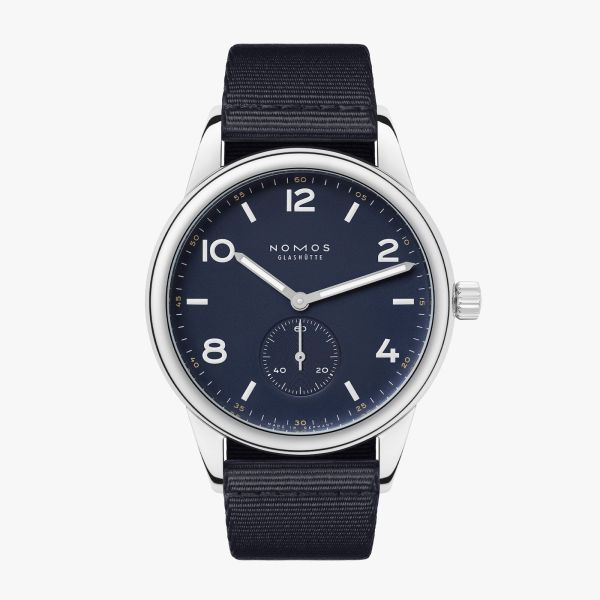 Nomos Glashutte, CLUB AUTOMATIC NAVY, Reference 753.S2, 175 years watchmaking Glashütte