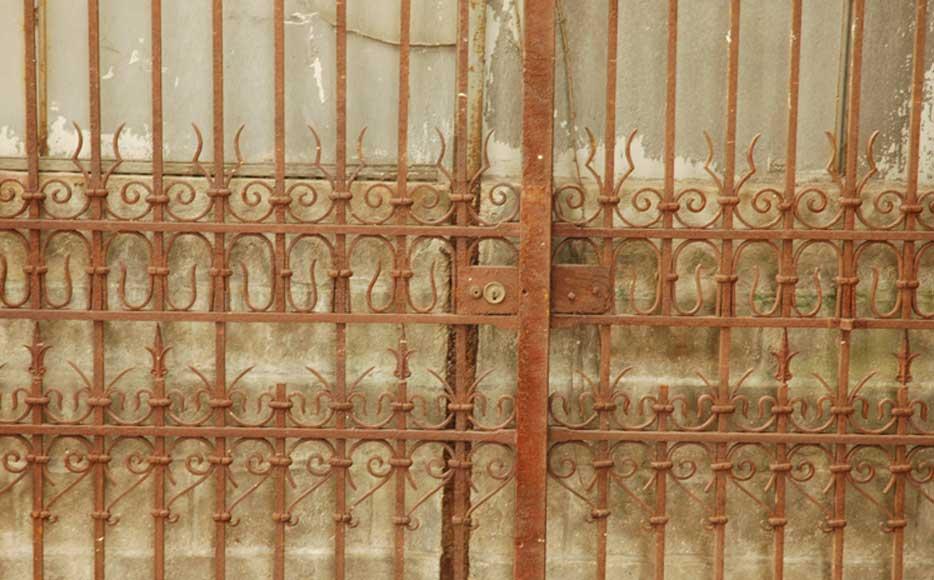 Portail Ancien En Fer Forg Portes