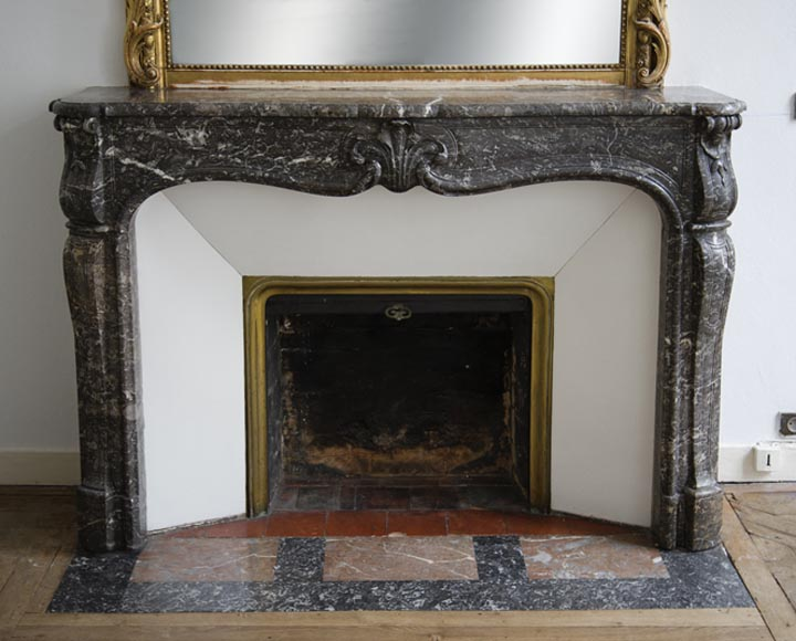 louis xv en marbre gris sainte anne