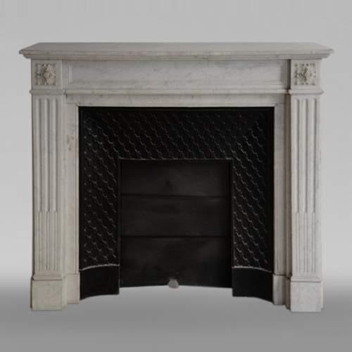 cheminees anciennes marbre
