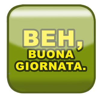 Il logo di Beh buona giornata è ormai di casa in molti social network.