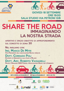 volantino Share the Road