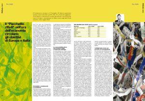 """Il """"Pacchetto rifiuti"""" nell'era dell'economia circolare: gli obiettivi di Europa e Italia"""