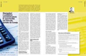 Stampatori e pubbliche amministrazioni: le opportunità sul Mercato portate da Consip