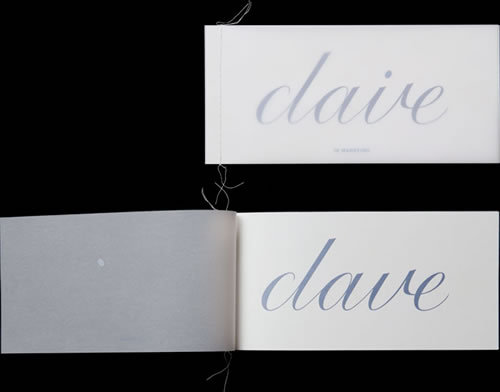 Names on a wedding card