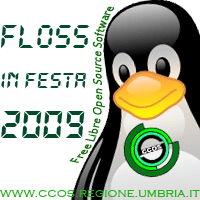 Logo Floss in Festa