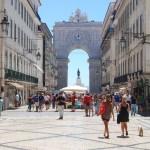 Lisbon downtown - Augusta Street