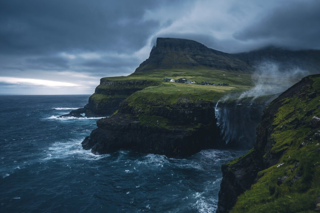 Faroe Islands Photo Tour, Faroe Islands Photography Workshop, Marco Grassi Photography, Gasadalur Waterfall
