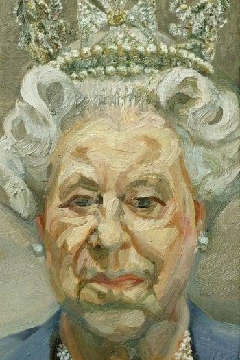 Lucian Freud, Queen Elizabeth II, 2001