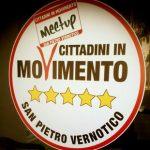 san pietro vernotico, movimento 5 stelle, elezioni, pino romano, forza italia, attivisti