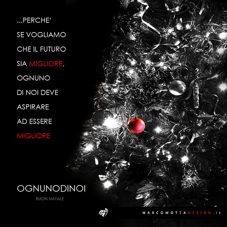 Cartolina Natale Biglietto Auguri 2015 Marco Motta Design