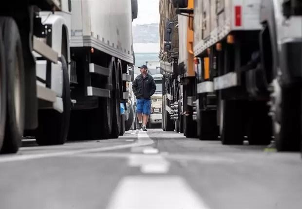 Impacto da greve dos caminhões no exterior foi revertido