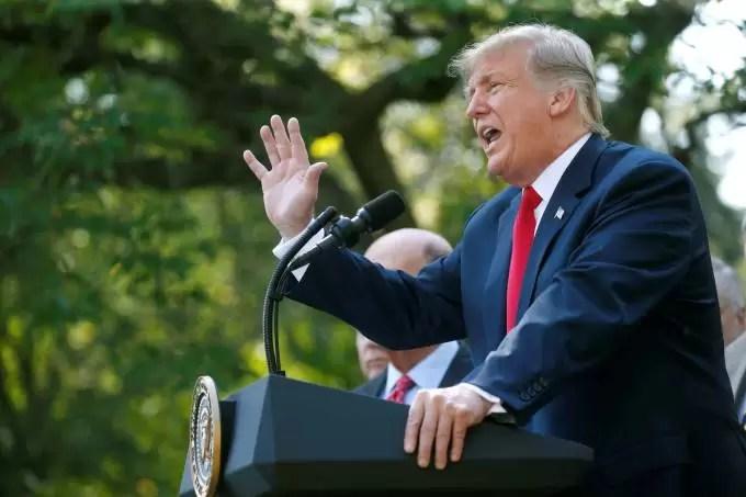 Trump celebra o USMCA, novo acordo comercial de EUA, México e Canadá