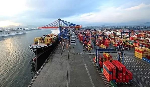 Portos brasileiros movimentaram 1,117 bilhão de toneladas de cargas em 2018, diz Antaq