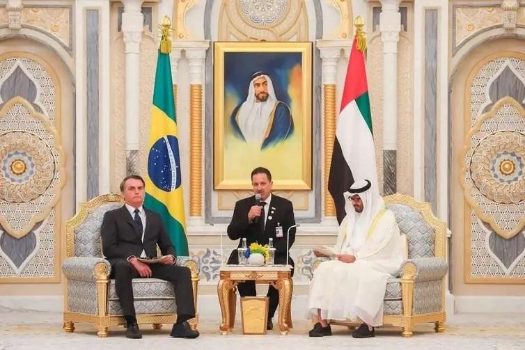 Brasil e Emirados Árabes assinam oito acordos e objetivo é estabelecer parceria estratégica