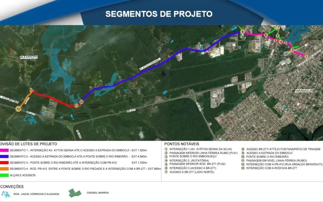 Concluído projeto executivo da revitalização de avenida em Paranaguá