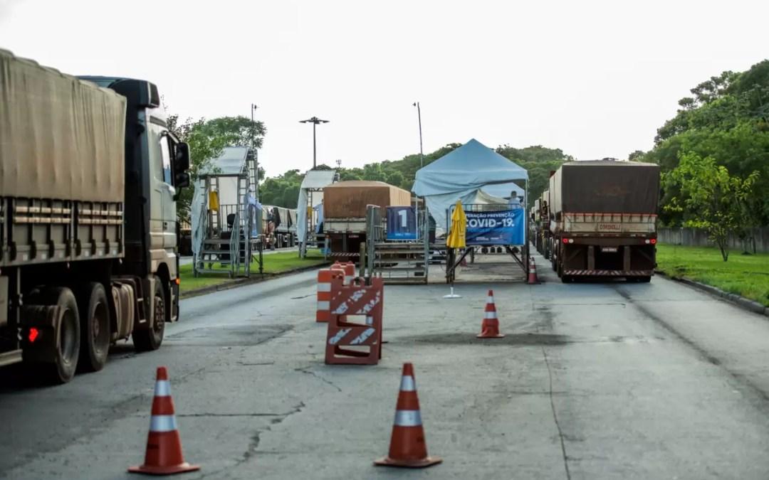 Port of Paranaguá receives 24% more trucks in 2020