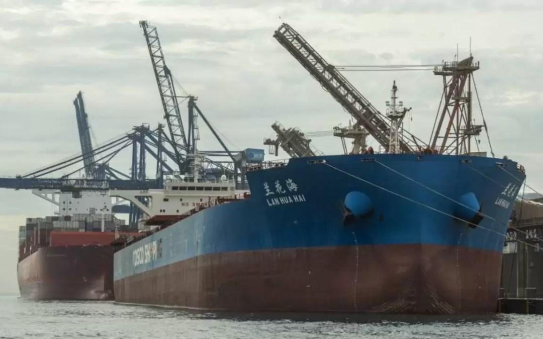 Porto de Paranaguá vai explodir rochas submersas para atrair navios maiores