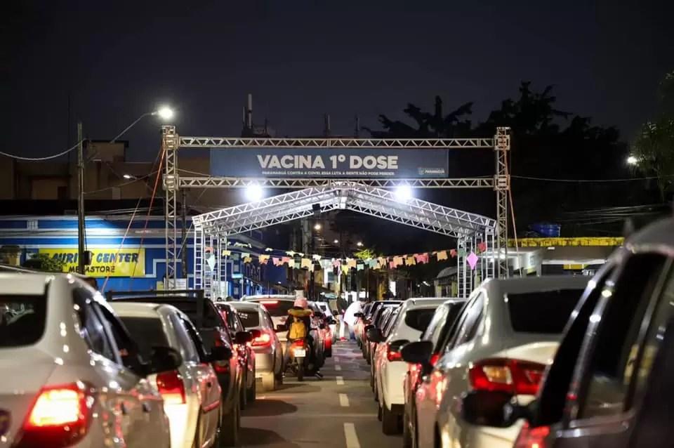 Paranaguá se destaca em ranking de vacinação contra a Covid-19 no Paraná