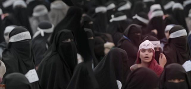 Quel paio di gambe contro l'integralismo islamico