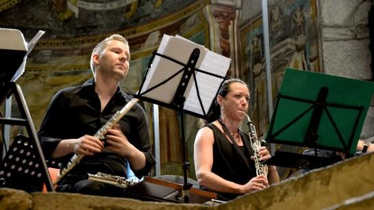 Christian Madlener, Michela Scali. Marco Santilli CheRoba & il Fiato delle Alpi. Photo credit: Marco Scesa