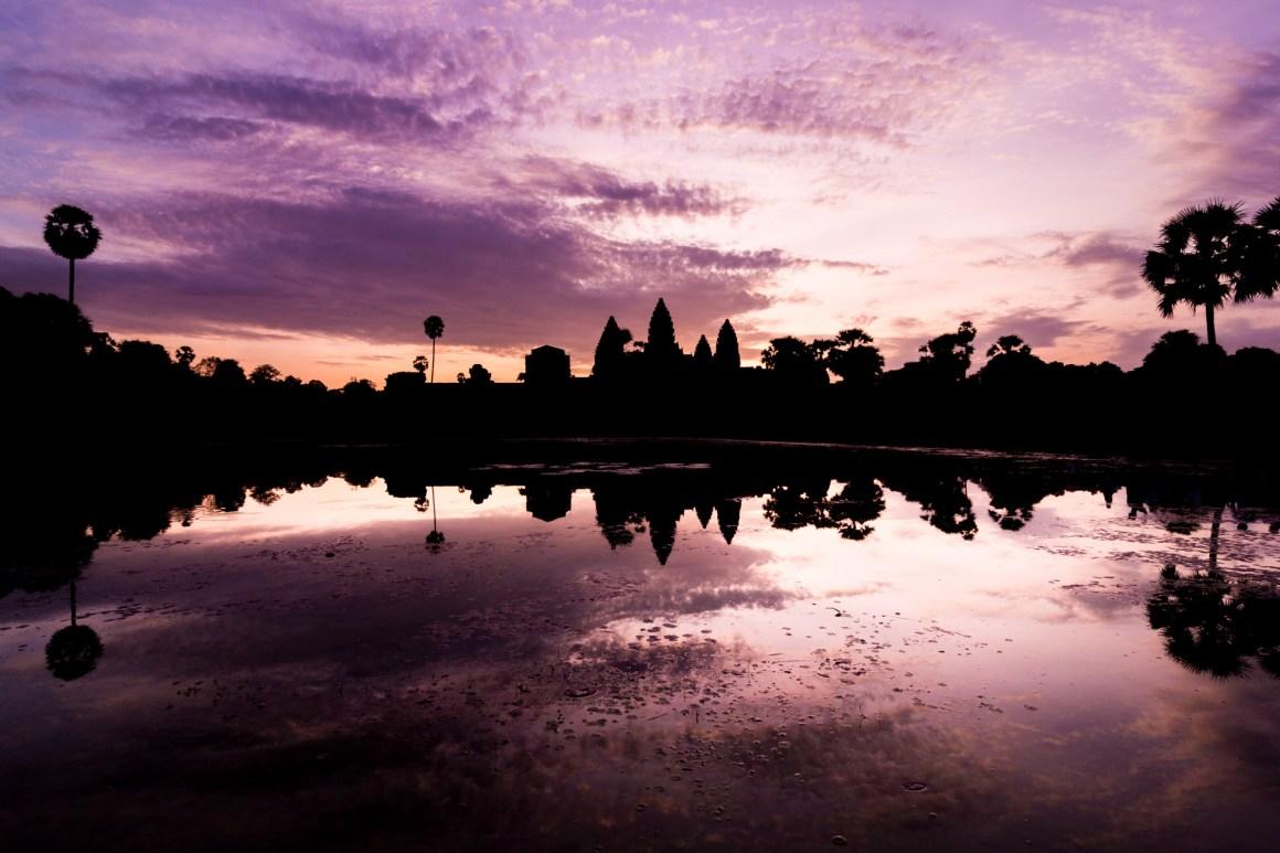 Angkor Wat Travel Photography Marco Schur Cambodia Kambodscha Reise Blog Tempel Asien Sunrise Sonnenaufgang