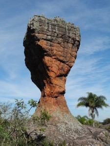 The Goblet is the most famous rock formation in the park