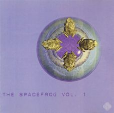 CD - Spacefrogs Vol. 1 1995 - Voderseite