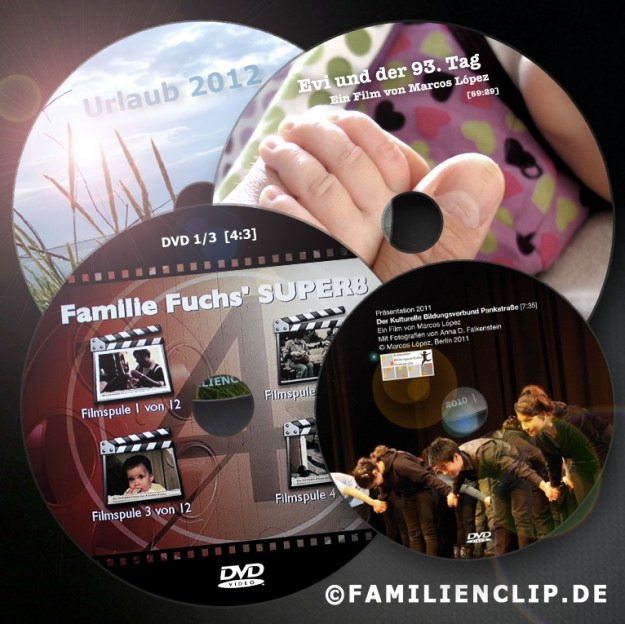 Biografie | Filmografie DVD-Collage Marcos López