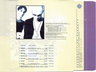 Die Rueckseite der CD von The Moon & The Sun