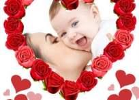 Marcos para el Día de la Madre: A mi mamita hermosa…
