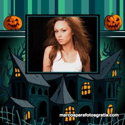 Marco de fotos de Halloween