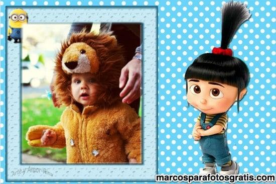 marcos de fotos infantiles con agnes