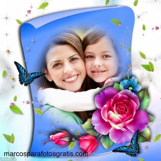 marcos_para_fotos_con_rosas_y_mariposas