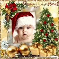 50 Modelos de marcos de fotos de Navidad