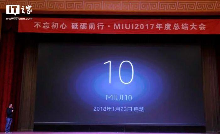 Miui 10 presentacion