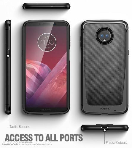 Diseño del Moto Z3 Play