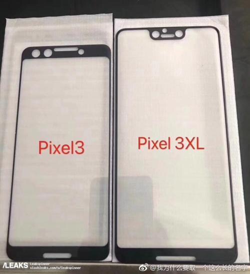 Se filtran las pantallas de los Google Pixel 3 y Pixel 3 XL