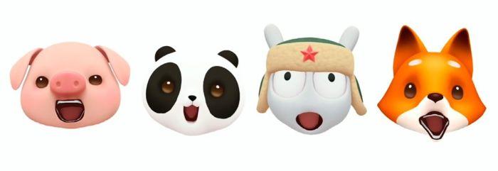 Xiaomi Mi 8-Animojis