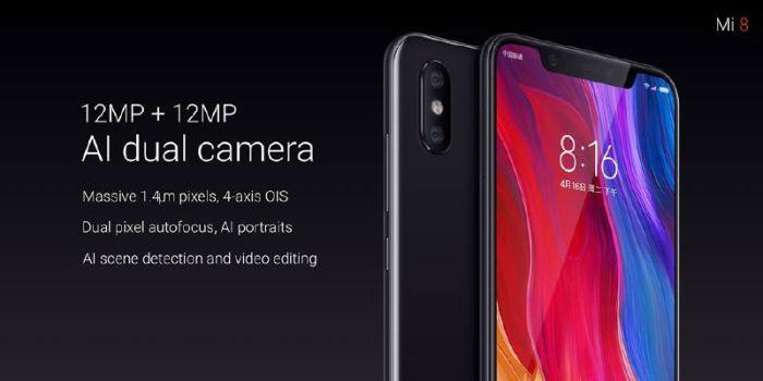 Xiaomi Mi 8-cámaras
