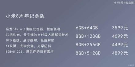 Xiaomi Mi 8-precio