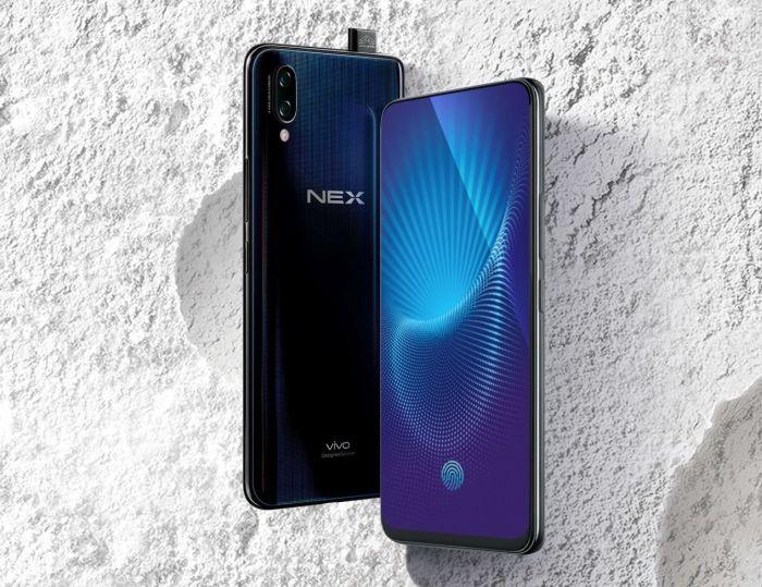 Vivo Nex-diseño