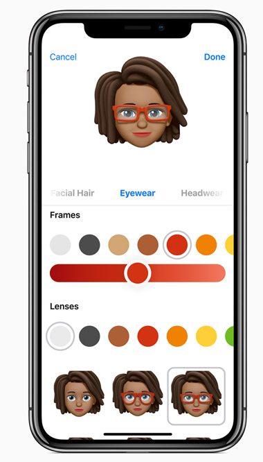 iOS 12-Animojis-Memojis