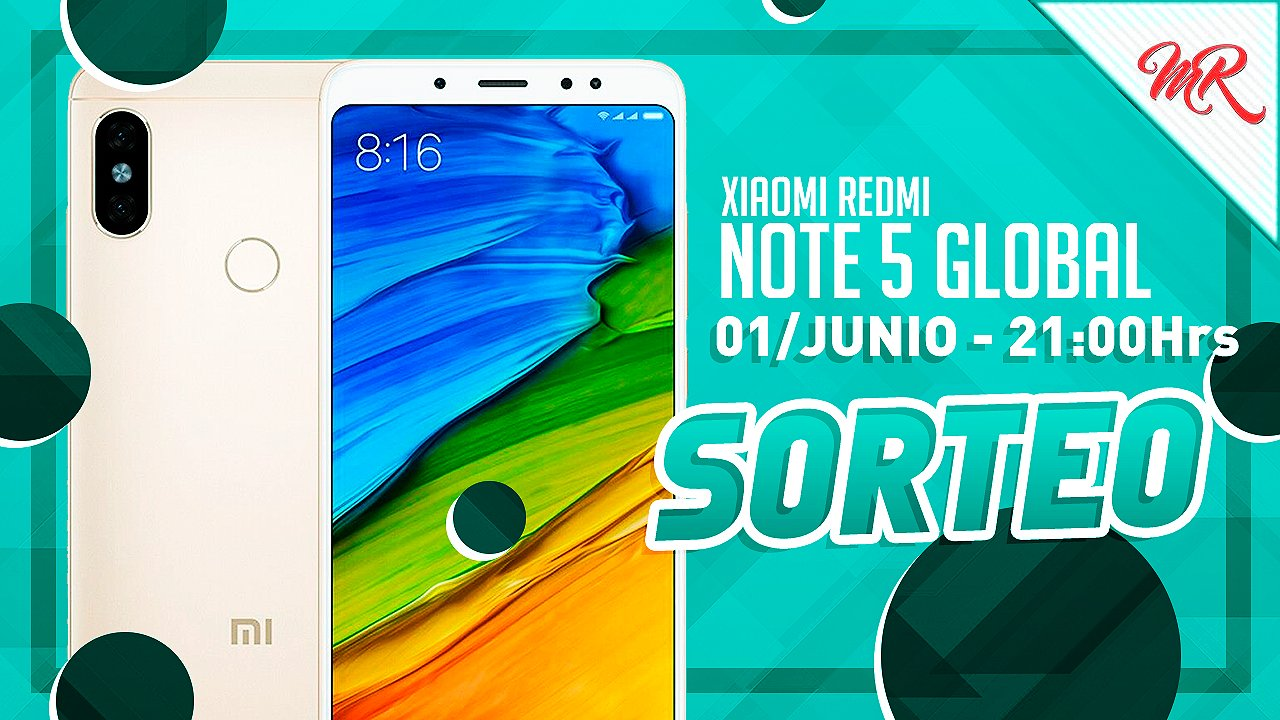 sorteo internacional Xiaomi Redmi Note 5 Global