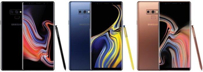 Samsung Galaxy Note 9 Precio